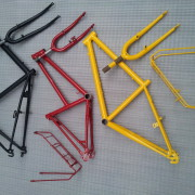 Fahrradrahmen pulverbeschichten